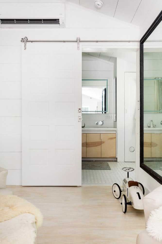 40 - Functional, the sliding door saves space for the environment