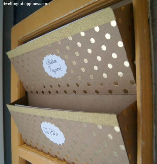 DIY Mail Sorters & Command Center | Dwelling in Happiness