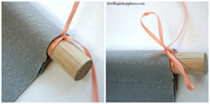 Tying knots collage