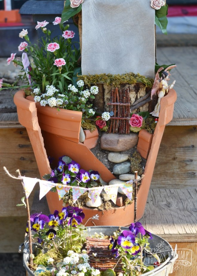 Easy-Inexpensive-Fairy-Garden-Idea-2-714x1000