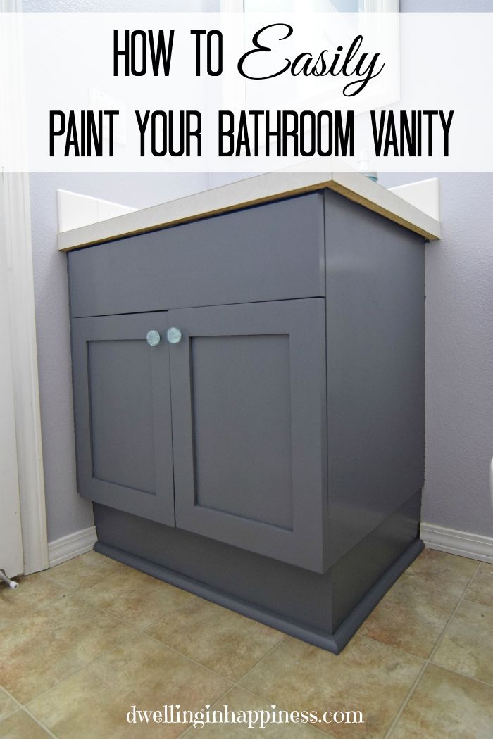 have or would you painted your bathroom vanity before do you have any other tips on what worked well for you