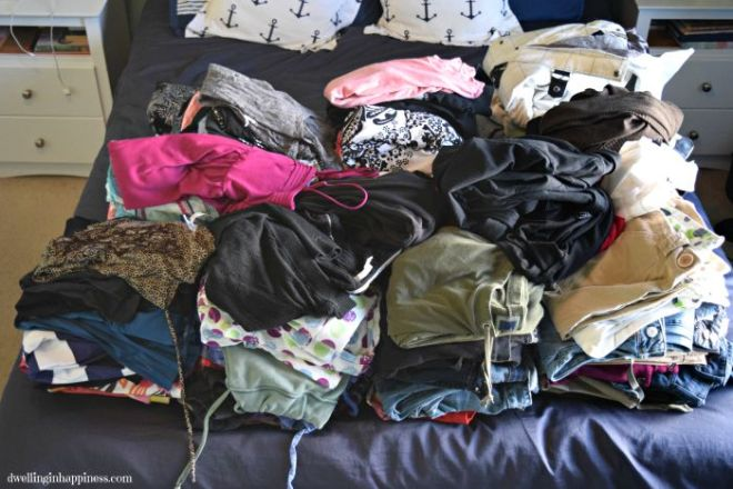 Donation-pile
