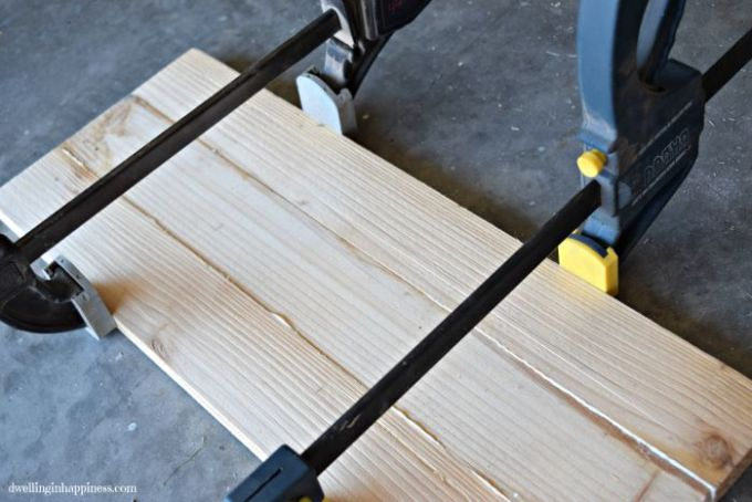 clamping-wood