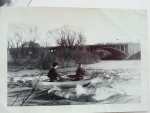 Dad on the Milwaukee River