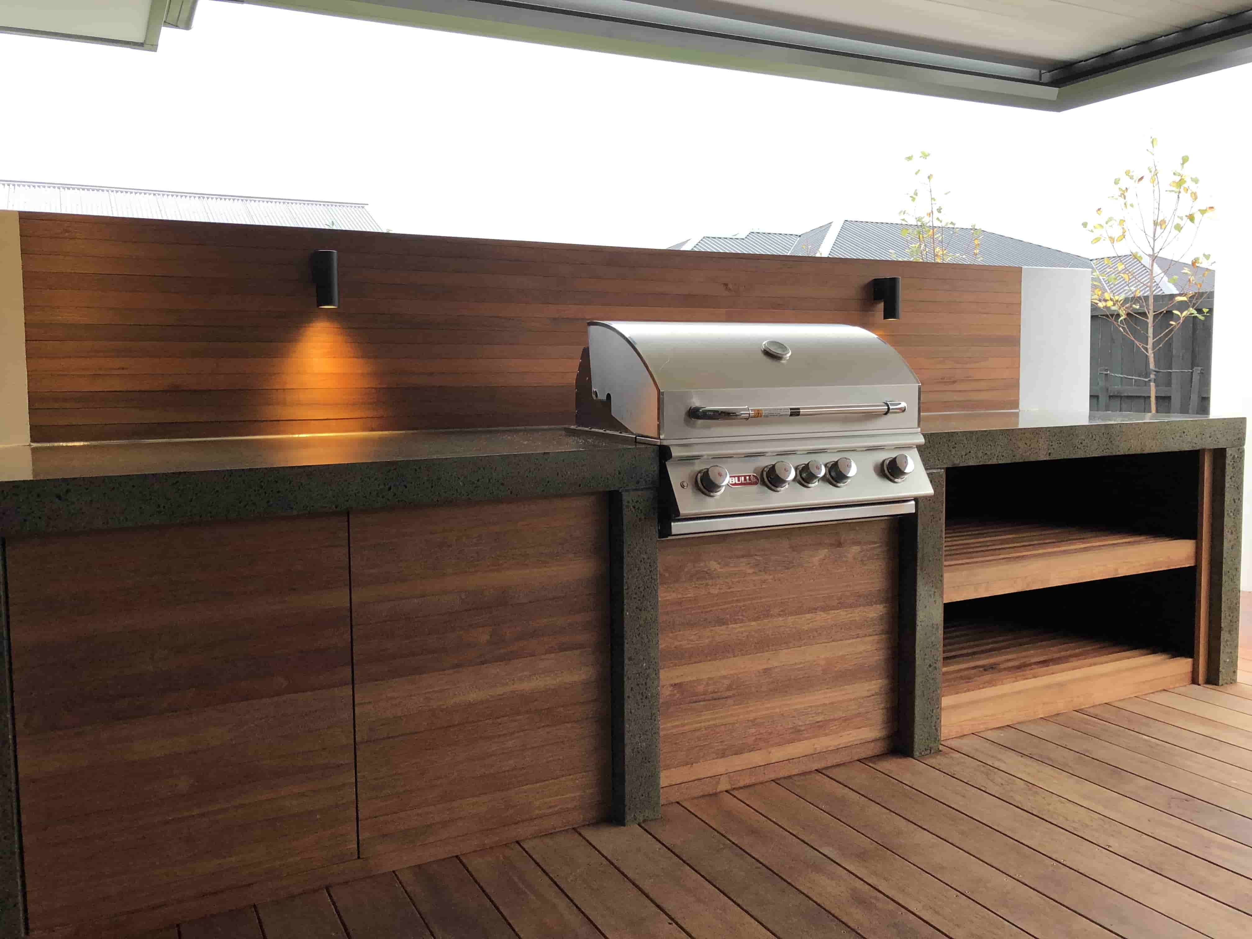Outdoor Kitchens Christchurch Design Construction Dwg