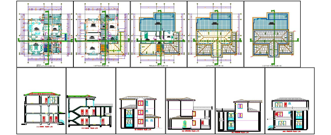 Autocad Dwg Villa Joy Studio Design Gallery Best Design