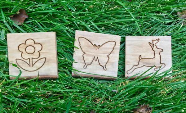 Flower, Butterfly and Deer Coasters