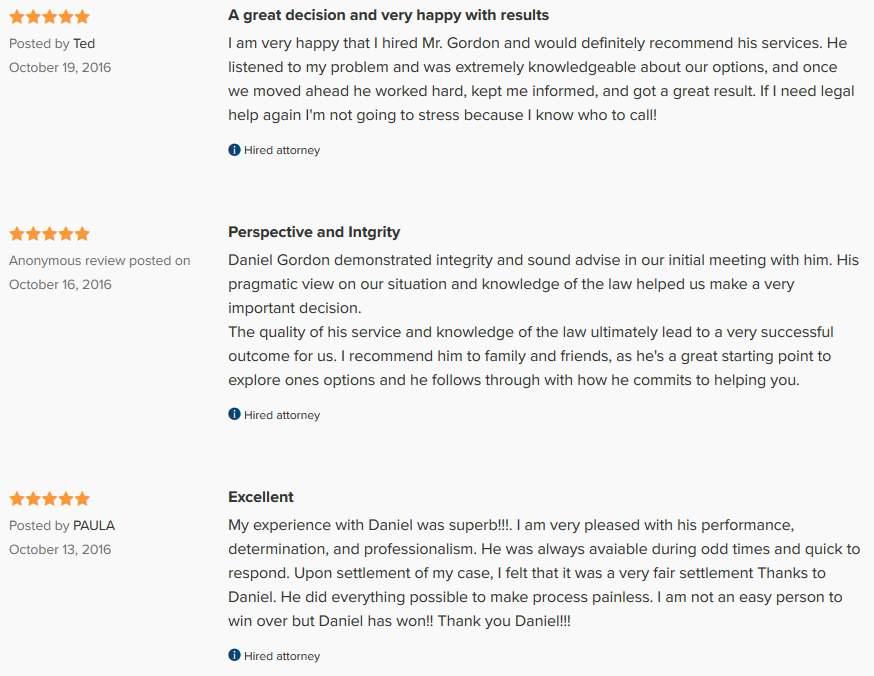 reviews dwi lawyer dallas