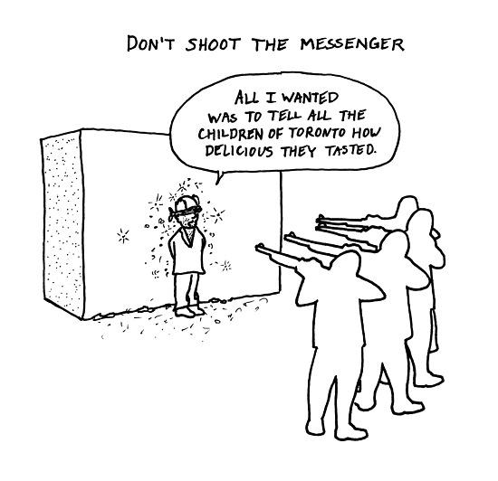 105 - Don't Shoot the Messenger