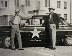 Texas: First Sheriff's Department in Texas; Brazoria County Sheriff Charles Wagner