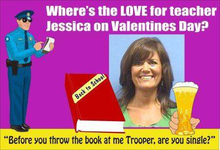 Teacher Jessica Craven busted on Valentines Day for DUI