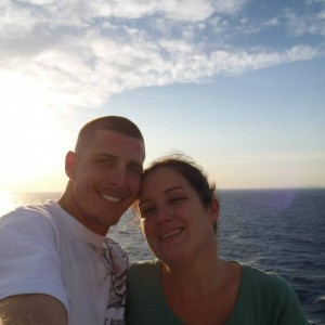 Mathew Notebaert and his wife prior to fatal booze cruise