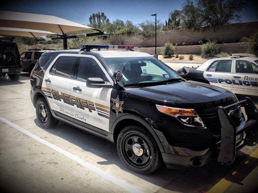 Riverside County Sheriff patrol