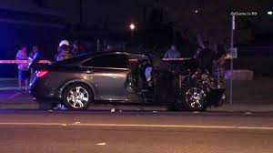 Deadly Lexus driver blew through a red light and killed a teen in another vehicle.  The DUI driver had a previous conviction for DUI. Santa Ana crash Fatal DUI ABC 7 LA