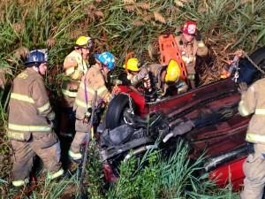 Anne Arundel County Fire Dept. on scene of crash