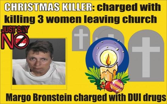 Christmas Killer Margo Bronstein Redondo Beach Calif graphic