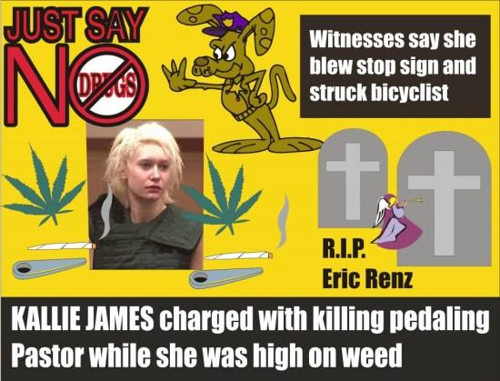 Kallie James Charged with DUI homicide Pearce County Washington