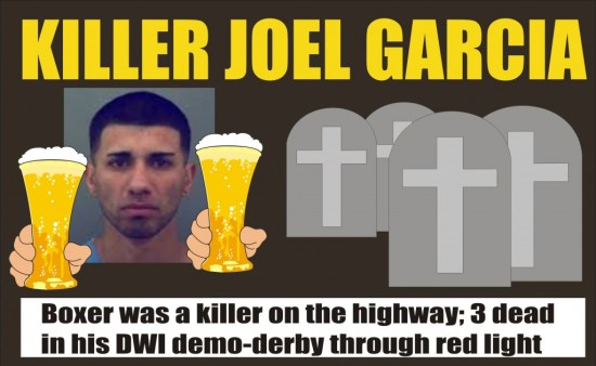 Killer Joel Garcia killed 3 in El Paso on Christmas Eve 2014