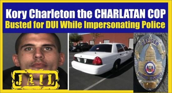 Kory Charleton the Charlatan Cop San Bernardino Calif SO