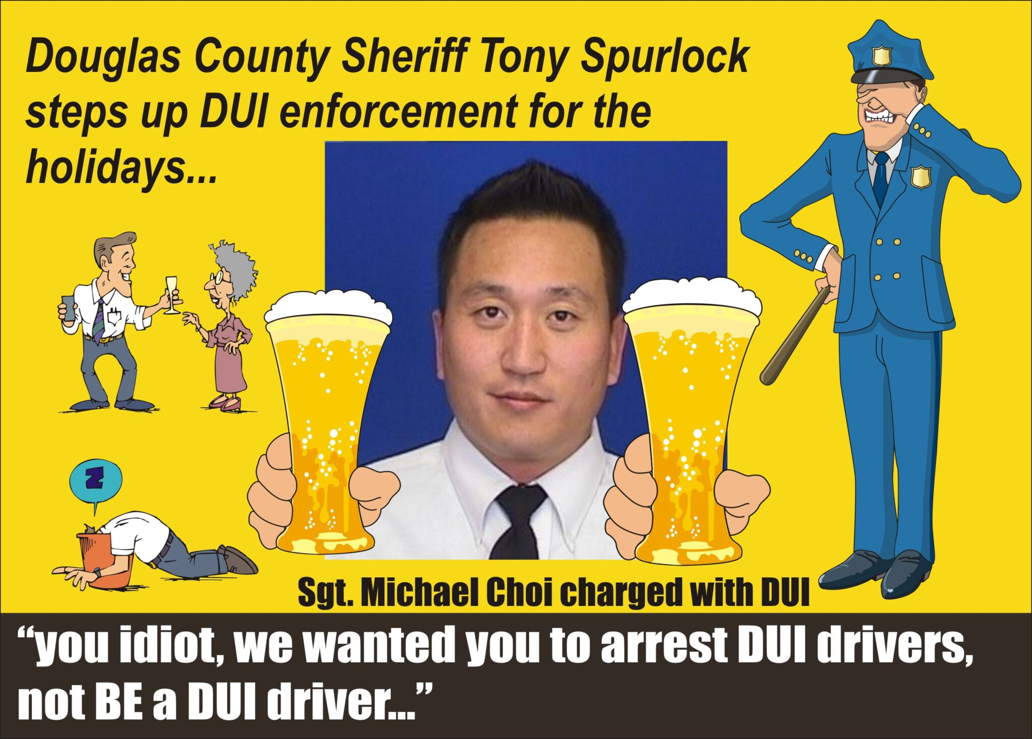 Colorado Douglas County Sheriff Sgt Michael Choi Didn U2019t