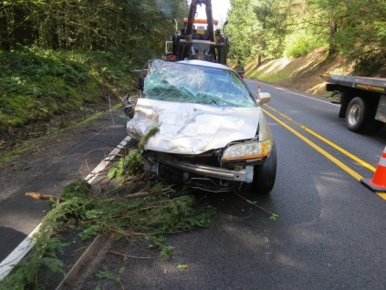 Patricia Kuykendall was the passenger in this Honda when hit by DUI driver 032815