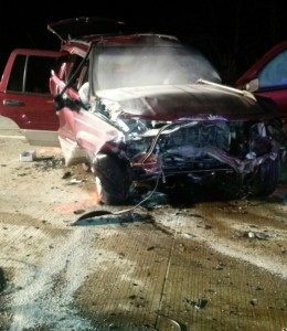Wrong way driver suspected of being DUI when causing fatal crash on March 15, 2015 in Vanderburgh County Indiana.
