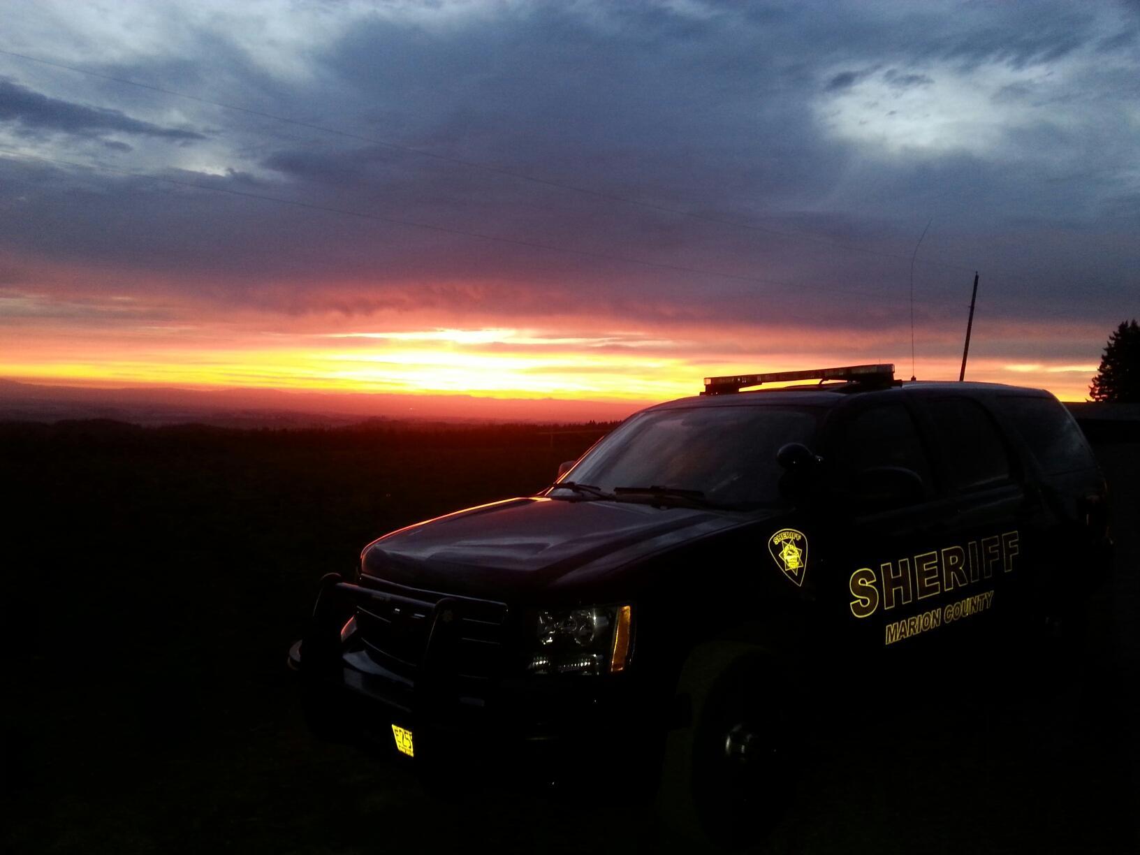 Oregon: Marion County Sheriff Jason Myers sending out extra