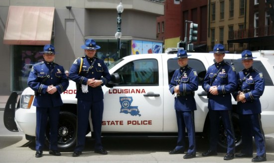 Louisiana State Police in New Orleans