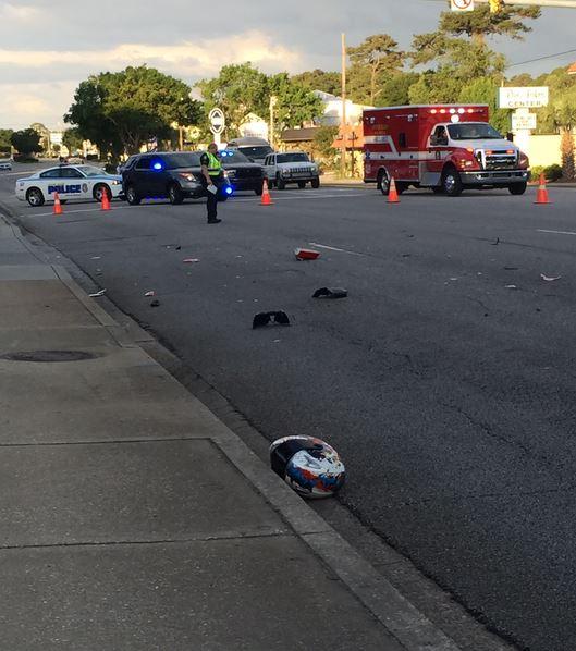 Reginald Rivers DUI hit and run fatal Myrtle Beach PD SC 052415
