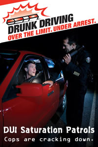 DUI saturation Patrols image