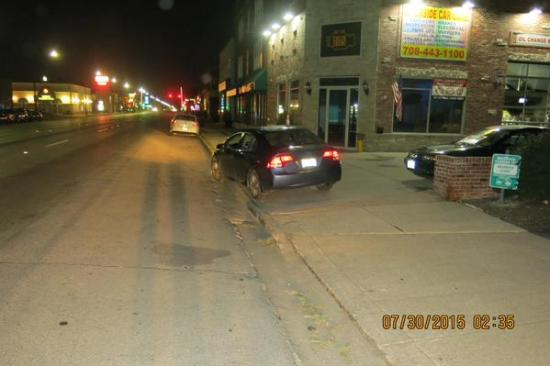 Riverside PD arrests male 26 of Chicago for DUI  2 14 AM after found passed out & drove off roadway 3200 S. Harlem. BAC .181
