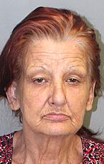 Barbara Morrison after flipping her wheels in DUI escapade