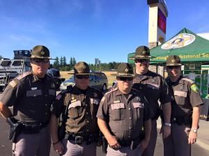 Lewis County Washington Sheriff Rob Snaza and Deputies