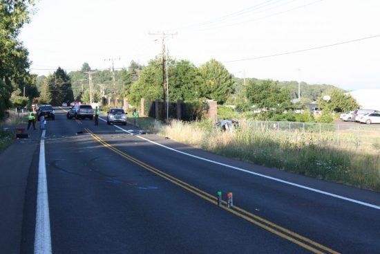 Benton Co Sheriff DUI crash Fourth of July Dakena Clinton 070416