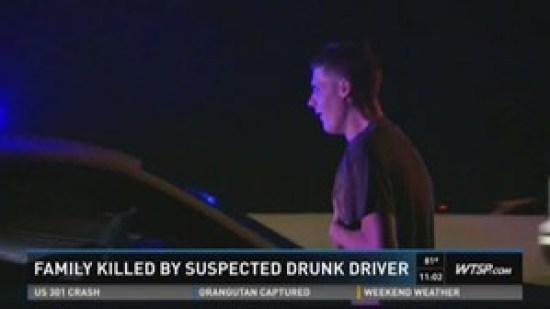 Joshua Burbank killed family in Tampa DUI crash 070216 photo WTSP