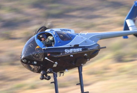 San Diego County Sheriff helicopter