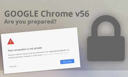 Google Chrome's 'Not Secure' Warning