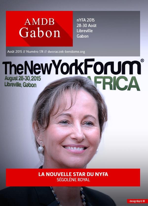 Gabon-Ségolène Royal-star du New-York Forum Africa 2015