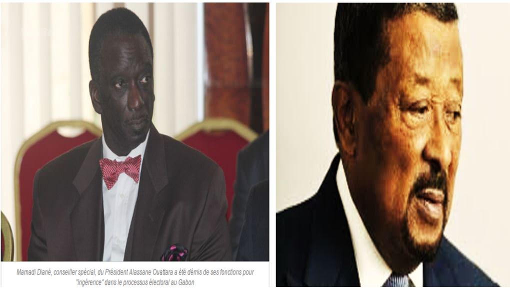 JEAN PING ET MAMADI DIANé, conseiller spécial du président Alassane OUATTARA