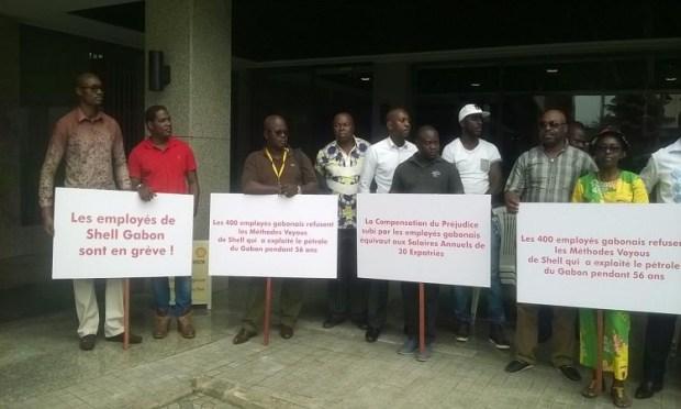Grève à Shell Gabon - La menace de l'ONEP