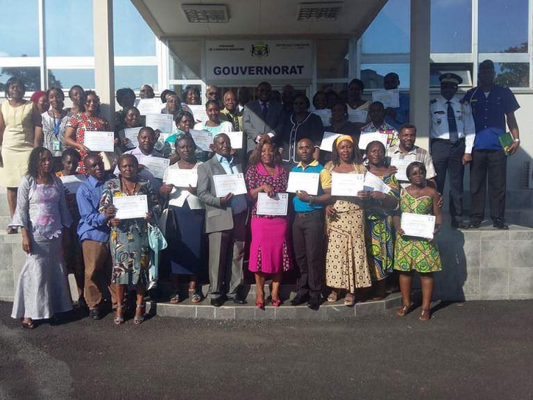 Fin de la campagne de vaccination contre la Rougeole dans l'Ogooué Maritime : 84% de couverture