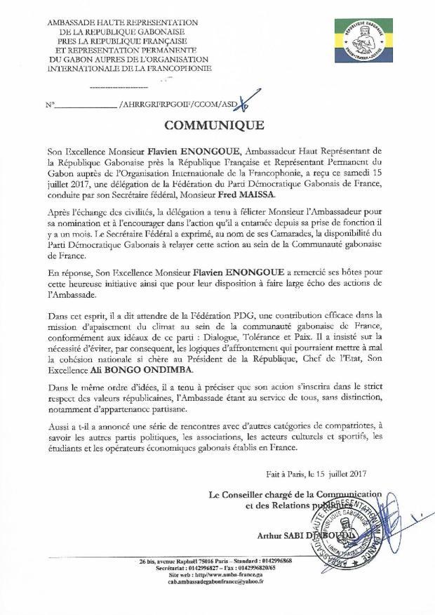 Communiqué-Rencontre-Ambassadeur-du-Gabon-en-France