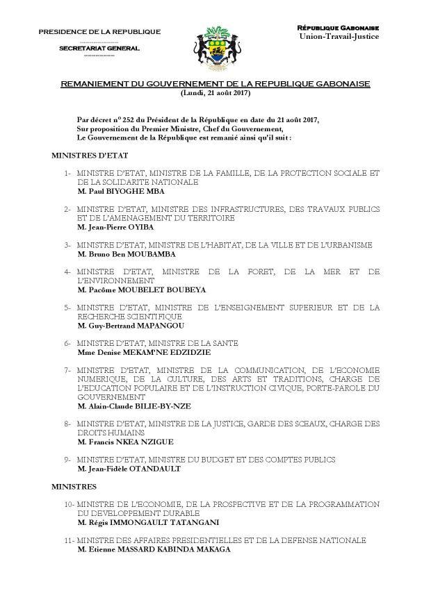 Gouvernement Gabon Août 2017-3-page-001