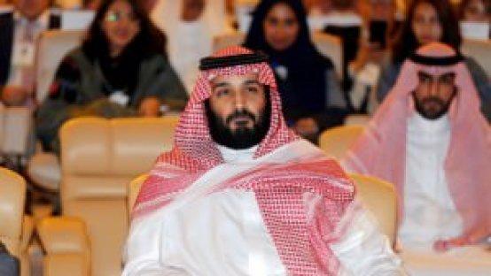 Mohammed ben Salman, prince héritier d'Arabie saoudite, le 24 octobre 2017 à Riyad. REUTERS/Hamad I Mohammed/File Photo