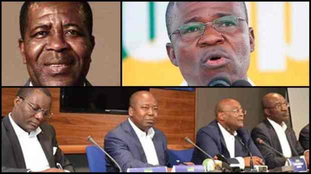 Des responsables politique du PDG
