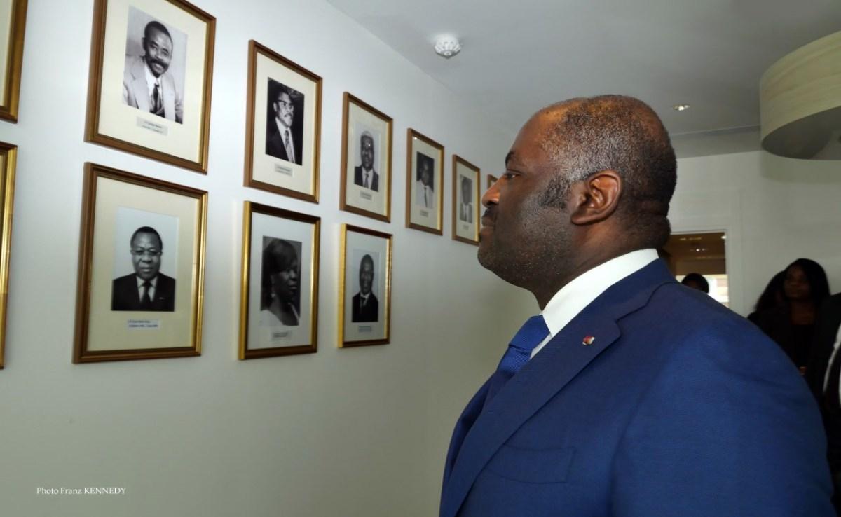 Paris-Ambassade du Gabon: Régis IMMONGAULT rencontre les personnels et inaugure le Salon des Ambassadeurs