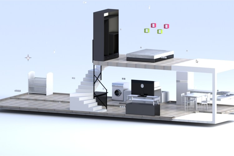 Vue orthonormé - Plan 3D