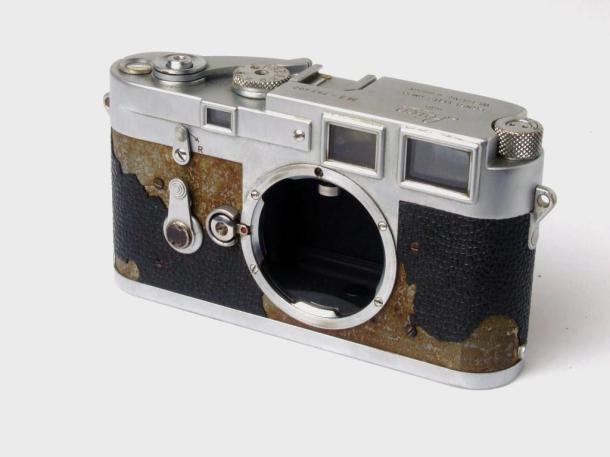 Leica M3, aquela que ainda vou restaurar - sem lente