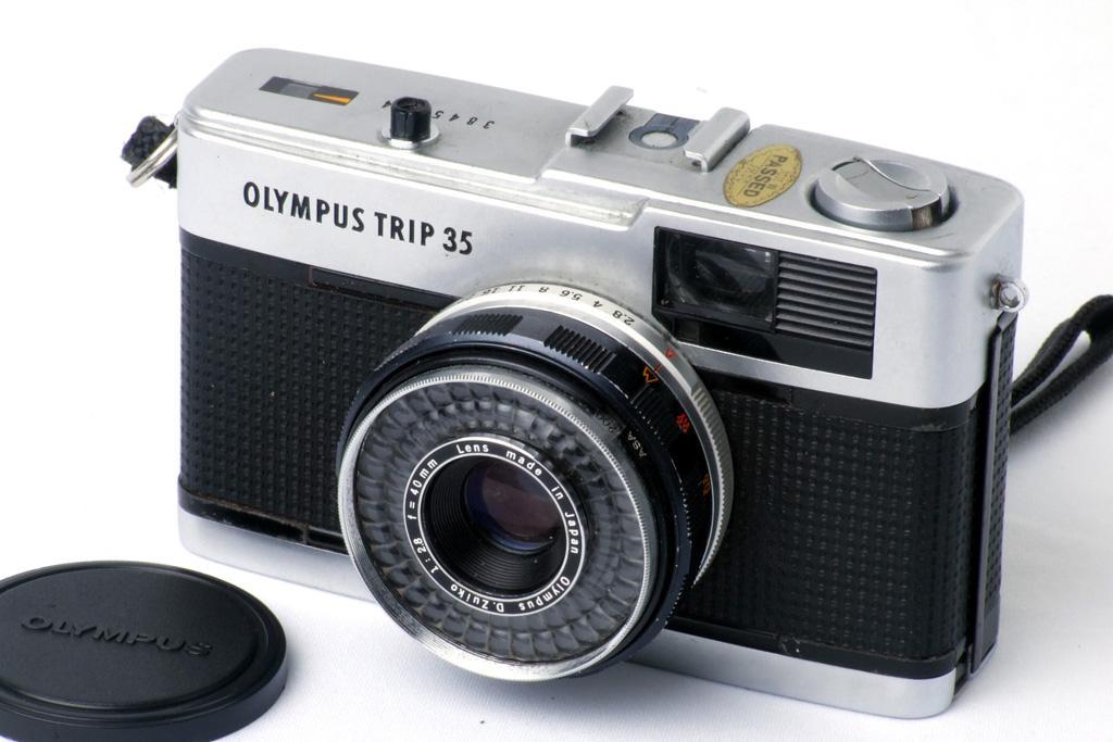 Olympus Trip 35, uma compacta que é uma viagem