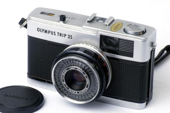 Olympus Trip 35 - Frente